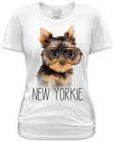Juniors: New Yorkie T-Shirts