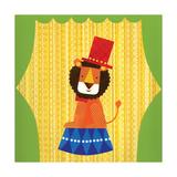 Circus Lion Giclée-Druck von Lorena Siminovich