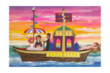 Pleasure Boat Giclee Print by Mary Blair