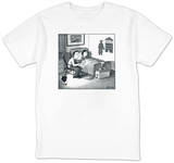 Yale shadow - New Yorker T-Shirt T-shirts by Harry Bliss