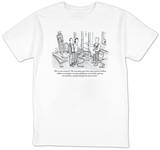 """Worst-case scenario?  The renovation goes three years and two million dol…"" - New Yorker T-Shirt Shirts by Robert Leighton"