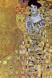 Gustav Klimt Portrait of Mrs Adele Bloch-Bauer 2 Plastic Sign Plastic Sign by Gustav Klimt
