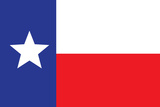 Texas Flag Plastic Sign Plastic Sign