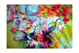 Spectacular Orchid Multicolor Photographic Print by Alaya Gadeh