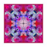 Pink Purple Mandala Ornament Posters por Alaya Gadeh