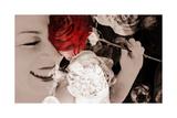 Rosy Mood Fotografisk tryk af Alaya Gadeh