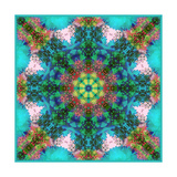 Flower Mandala Cecile Posters por Alaya Gadeh