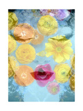 Flower Kiss Print by Alaya Gadeh