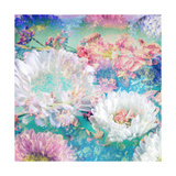 Impressionistic Ocean Of Blossoms Photographic Print by Alaya Gadeh