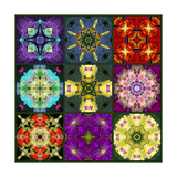 Mandala Collection No 7 Photographic Print by Alaya Gadeh