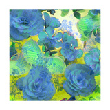 Gree Ornamental Blues Photographic Print by Alaya Gadeh