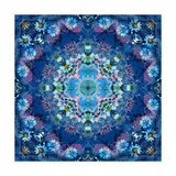 Ocean Flower Mandala Photographic Print by Alaya Gadeh