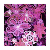 Party Pink Square Photographic Print by Alaya Gadeh