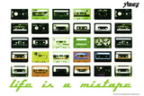 Steez Life Is A Mixtape - Green Poster Prints