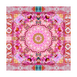 Love Mandala No 8 Photographic Print by Alaya Gadeh