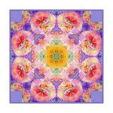 Flower Mandala Round Blossom Pôsters por Alaya Gadeh