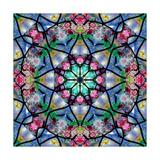 Flower Labyrinth 2 Photographic Print by Alaya Gadeh