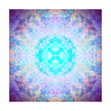 Mandala Blossom Light Photographic Print by Alaya Gadeh