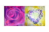 Rose Heart Photographic Print by Alaya Gadeh