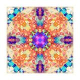 Medaillon Mandala Photographic Print by Alaya Gadeh
