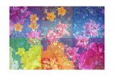 Floral Squares I Photographic Print by Alaya Gadeh