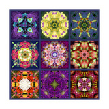 Flower Mandala No 8 Posters by Alaya Gadeh