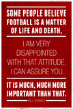 Bill Shankly Football Quote Sports Poster Poster