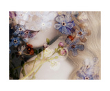 Love Forget Me Not Photographic Print by Alaya Gadeh and Elizabeth May