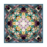 Holy Symmetry Flower Mandala Photographic Print by Alaya Gadeh