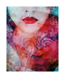 Red Like Love Photographic Print by Alaya Gadeh and Elizabeth May