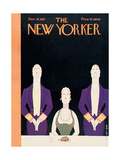 The New Yorker Cover - November 19, 1927 Regular Giclee Print by Rea Irvin