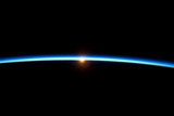 Thin Blue Line of Earth Atmosphere Poster Photo