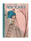 The New Yorker Cover - April 9, 1927 Regular Giclee Print by Peter Arno