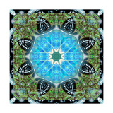 Water Energy Mandala Photographic Print by Alaya Gadeh