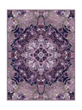 Purple Flower Mandala II Photographic Print by Alaya Gadeh