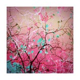 Tree Abstract Posters por Alaya Gadeh