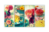 Romantic Table Decoration Posters by Alaya Gadeh