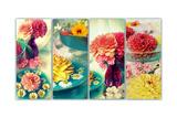 Romantic Table Decoration Pôsters por Alaya Gadeh
