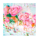 Pink Rose Party II Photographic Print by Alaya Gadeh