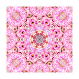 Flower Mandala Love VII Photographic Print by Alaya Gadeh