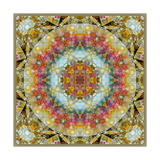Royal Patterns Of Earth Mandala Photographic Print by Alaya Gadeh