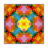 Flower Power Mandala Photographic Print by Alaya Gadeh