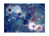 Entchanting Floral Water I Photographic Print by Alaya Gadeh