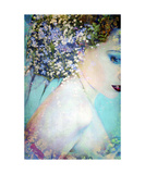 Adorned With Flowers Photographic Print by Alaya Gadeh and Elizabeth May