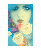 Through The Floral Waters Photographic Print by Alaya Gadeh and Elizabeth May