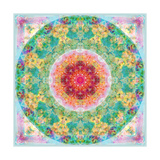Eternal Circle Flower Mandala Photographic Print by Alaya Gadeh