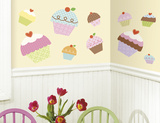 Happi Cupcake Peel & Stick Giant Wall Decal Wall Decal