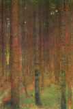 Gustav Klimt Fir Forest II Poster Posters