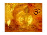 Buddha -Om I Photographic Print by Christine Ganz