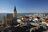 Felsenkirche (Rock Church), Diamond Hill, Luderitz, Southern Namibia Photographic Print by David Wall